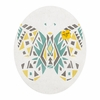 Tribal Butterfly Oval Magnet Board