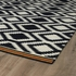 Tribal Diamonds Nomad Rug in Black