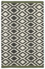 Tribal Diamonds Nomad Rug in Grey