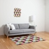 Tribeca Nightlife Flat Weave Rug