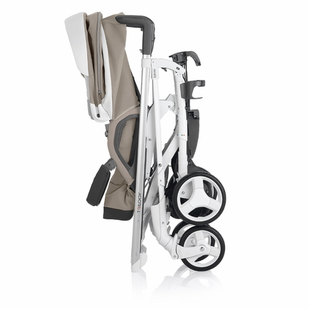 Trilogy Stroller - Blue and White