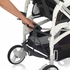 Trilogy Stroller - Brown and White