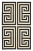 Trina Turk Black Greek Key Hook Rug