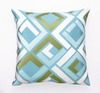 Trina Turk Blue Avenida Maze Pillow