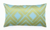 Trina Turk Blue & Lime Avenida Maze Pillow