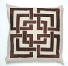 Trina Turk Brown Shanghai Links Pillow