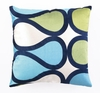 Trina Turk Burmese Vine Light Blue Pillow
