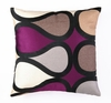 Trina Turk Burmese Vine Purple Pillow