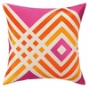 Trina Turk Los Olivos Embroidered Pillow in Pink