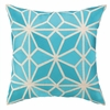 Trina Turk Mojave Embroidered Pillow in Turquoise