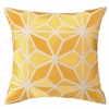 Trina Turk Mojave Embroidered Pillow in Yellow