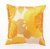 Trina Turk Multi Floral Embroidered Yellow Pillow