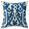 Trina Turk Ojai Embroidered Pillow in Blue