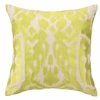 Trina Turk Ojai Embroidered Pillow in Citron