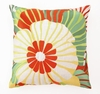 Trina Turk Orange Sea Floral Pillow