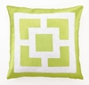 Trina Turk Palm Springs Block Pillow in Green