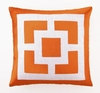 Trina Turk Palm Springs Block Pillow in Orange