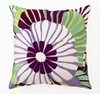 Trina Turk Purple Sea Floral Pillow