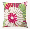 Trina Turk Red Sea Floral Pillow