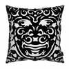 Triton Pillow in Black and White