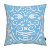 On Sale Triton Pillow in Blue and White