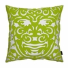 Triton Pillow in Green and White
