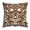 On Sale Triton Pillow in Sable and White