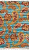 Tropical Paisley Cotton Rug