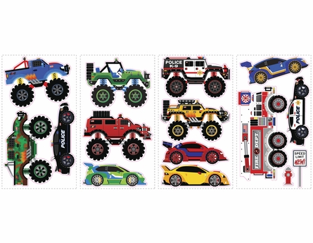 Trucks & Transportation Wall Decals