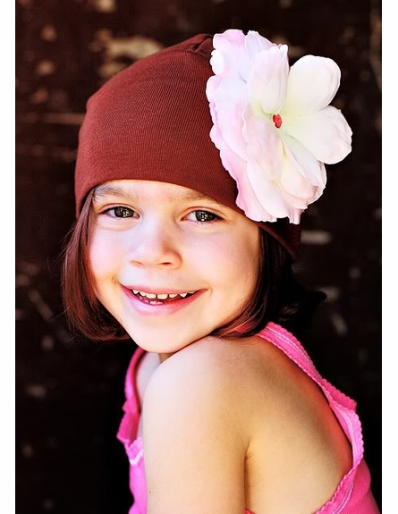 Truffle Pink Rose Cotton Hat