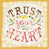 Trust Your Heart Canvas Wall Art