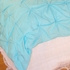 Turquoise Pin-Tuck Duvet Cover
