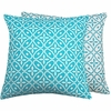 Turquoise Simplicity Throw Pillow