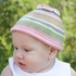 Turtle Toppers Baby Hat and Turtle Plush Gift Set in Pink