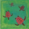 Turtle Wave Riders I Canvas Reproduction