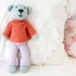 Turtleneck Sweater & Pants Organic Hand-Knit Doll Clothes