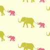 Tusk Flamingo Pink Removable Wallpaper