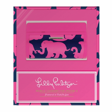Lilly Pulitzer Tusk In Sun Mobile Battery