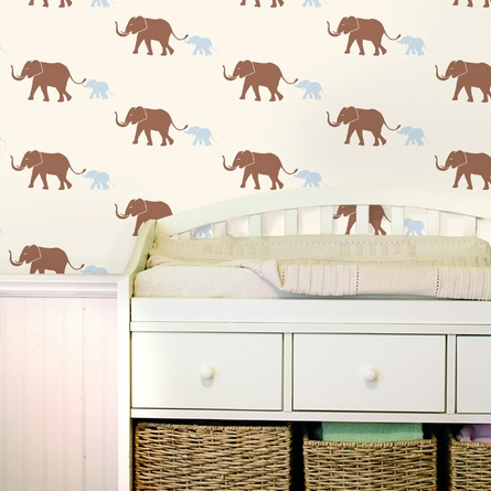 Tusk Morning Blue Removable Wallpaper