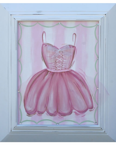 Tutu Ballet Dress Hand Painted Canvas
