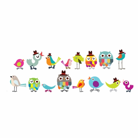 Tweetie Birdies Fabric Wall Decals