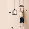 Tweeting Birds Kids Wall Sticker in Black