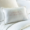 Twinkle Little Star Pink Embroidered Boudoir Pillow