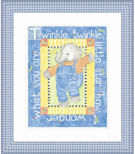 Twinkle Twinkle Framed Lithograph