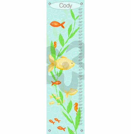 Under the Sea Boy Growth Chart