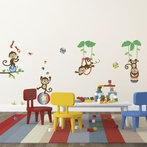 Under the Tree Top Wall Decals