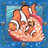 Underwater Clown Fish Canvas Wall Art