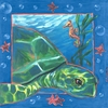 Underwater Sea Turtle Canvas Wall Art