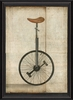 Unicycle Framed Wall Art
