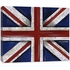 Union Jack Flag Canvas Reproduction